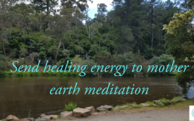 Send healing energy to mother earth